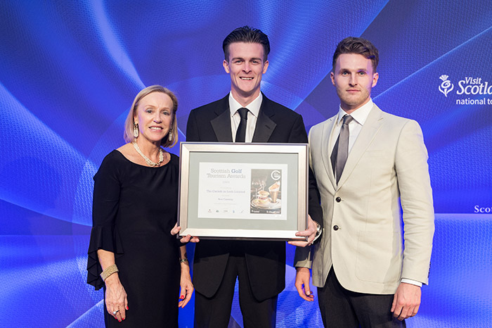 The Carrick on Loch Lomond at Scottish Golf Tourism Awards 2017