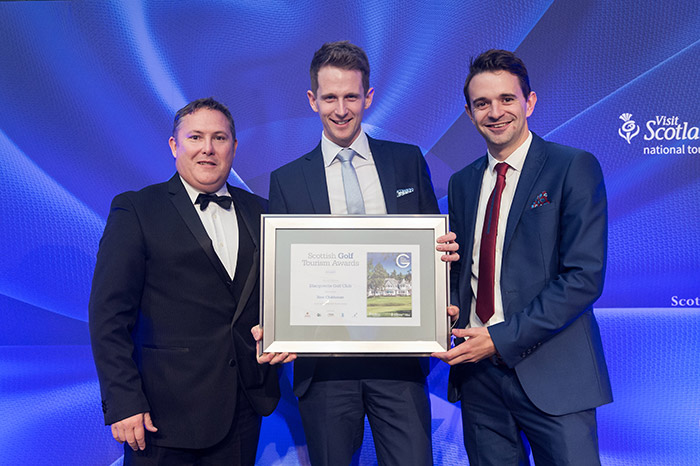 Blairgowrie Golf Club at Scottish Golf Tourism Awards 2017
