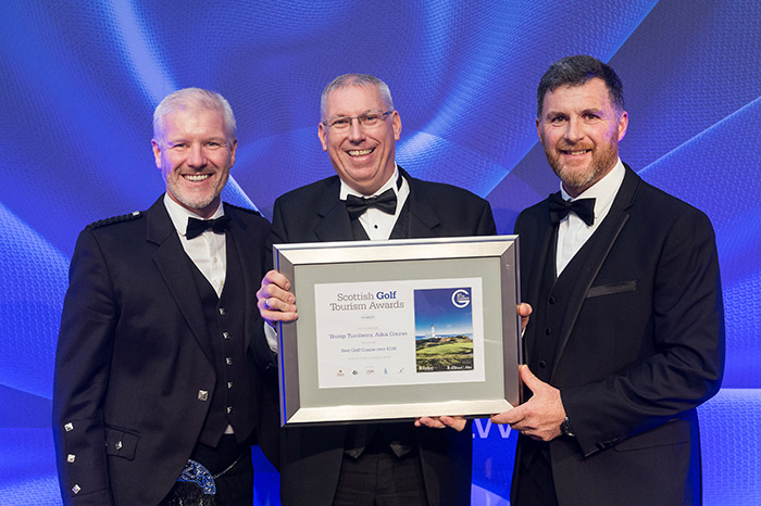 Trump Turnberry, Ailsa Course at Scottish Golf Tourism Awards 2017