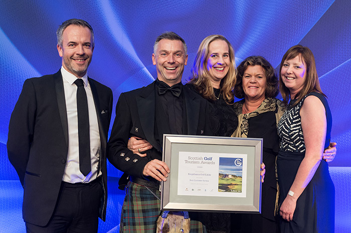 Kingsbarns Golf Links at Scottish Golf Tourism Awards 2017