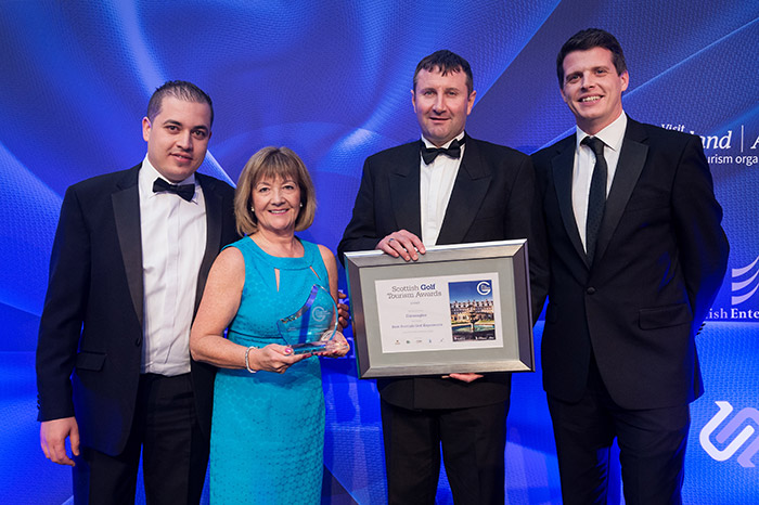 Gleneagles at Scottish Golf Tourism Awards 2017