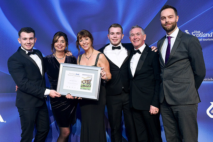 The Gailes Hotel, Irvine at Scottish Golf Tourism Awards 2017