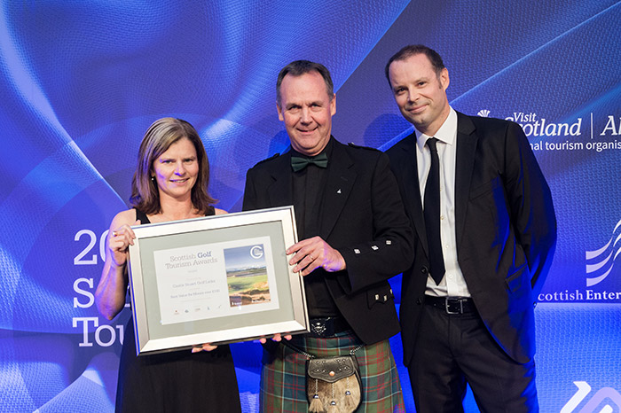 Castle Stuart Golf Links at Scottish Golf Tourism Awards 2017
