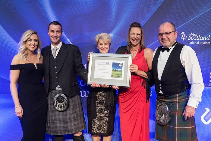 Fortrose and Rosemarkie Golf Club at Scottish Golf Tourism Awards 2017