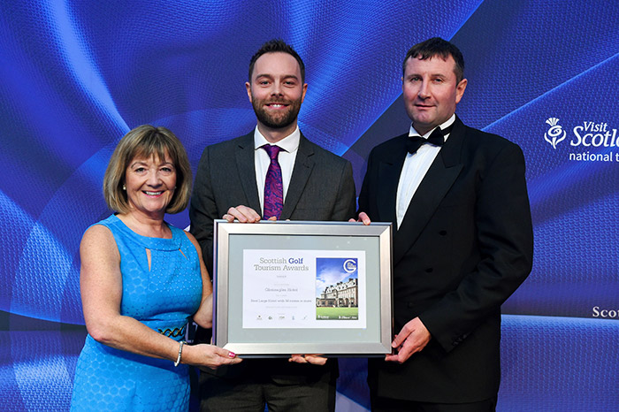 Gleneagles Hotel, Auchterarder at Scottish Golf Tourism Awards 2017