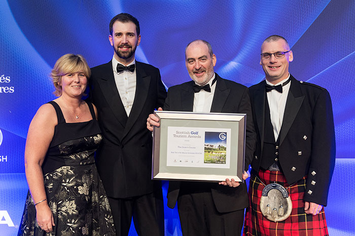 The Duke's Course at Scottish Golf Tourism Awards 2017