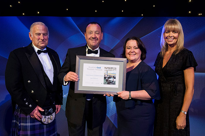 St Andrews Links, Castle Course at Scottish Golf Tourism Awards 2018