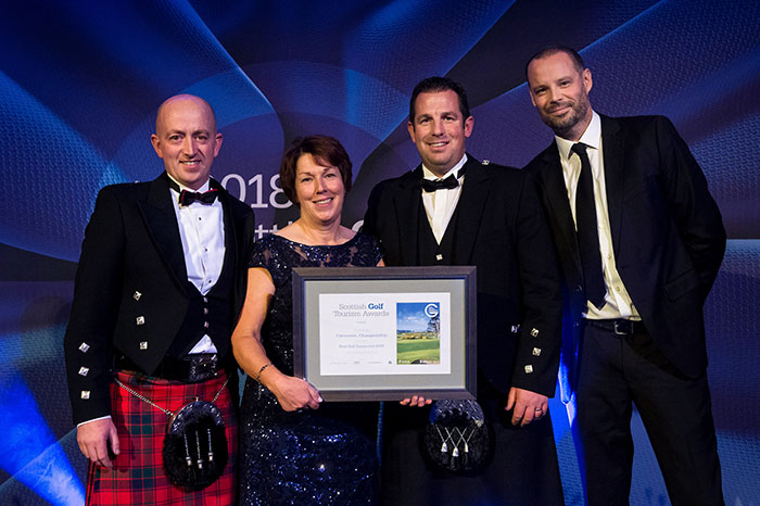 Carnoustie Golf Links, Championship Course at Scottish Golf Tourism Awards 2018