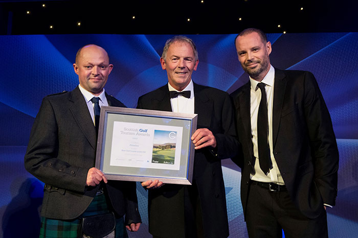 Pitlochry at Scottish Golf Tourism Awards 2018