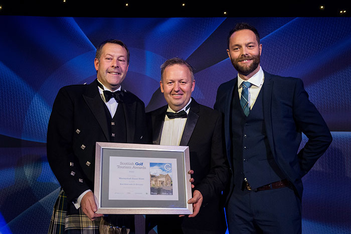 Murrayshall Country House Hotel at Scottish Golf Tourism Awards 2018