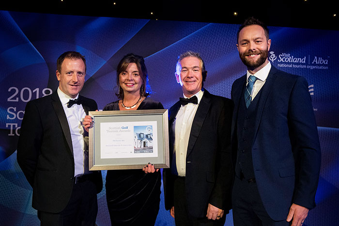 The Old Loans Inn, Troon at Scottish Golf Tourism Awards 2018