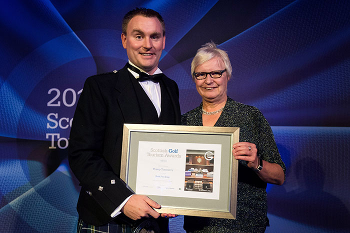 Trump Turnberry at Scottish Golf Tourism Awards 2018