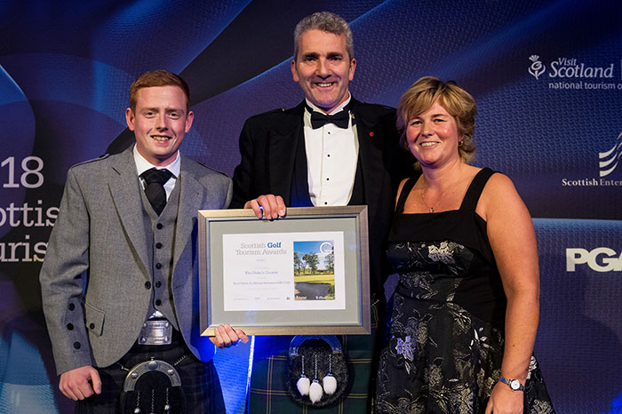 The Duke's Course, St Andrews at Scottish Golf Tourism Awards 2018