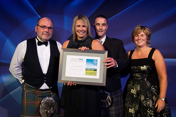 Fortrose and Rosemarkie Golf Club at Scottish Golf Tourism Awards 2018